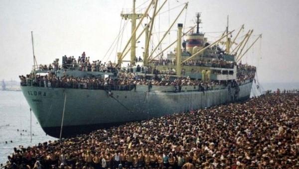 Le immagini della crisi alla 69. Mostra di Venezia