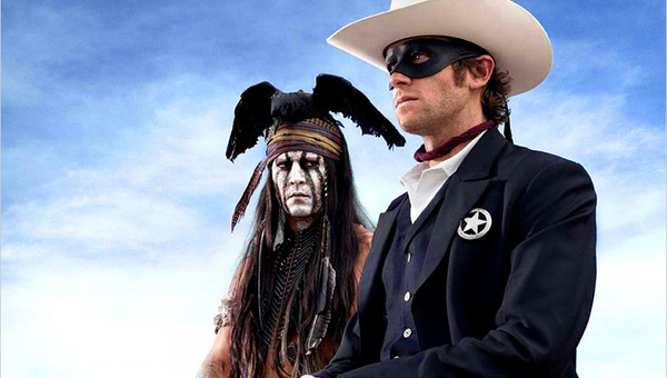 The Lone Ranger. Western weirdo in salsa Depp