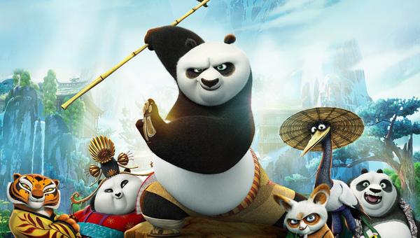 Kung Fu Panda 3. Po e i padri fondatori del cinema