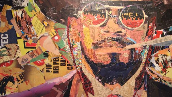 La grande illusione di Alejandro Pereyra, la settima arte in papiers collés a Matera