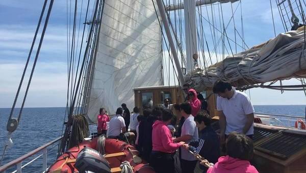 AISW, concluso il secondo viaggio dei ragazzi Williams su Nave Italia