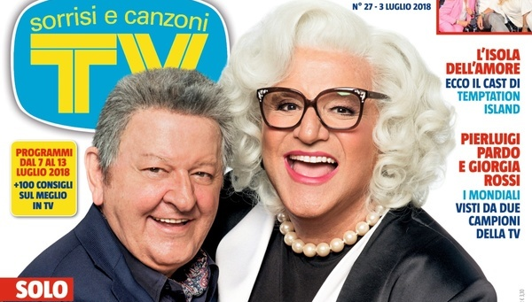 """A MEDUSA PIACCIONO SOLO ITALIANI. ZALONE (TOP SECRET) A FEBBRAIO. CONCIATO DA """"MRS. DOUBTFIRE"""" DE SICA FA LA BADANTE DI BOLDI"""