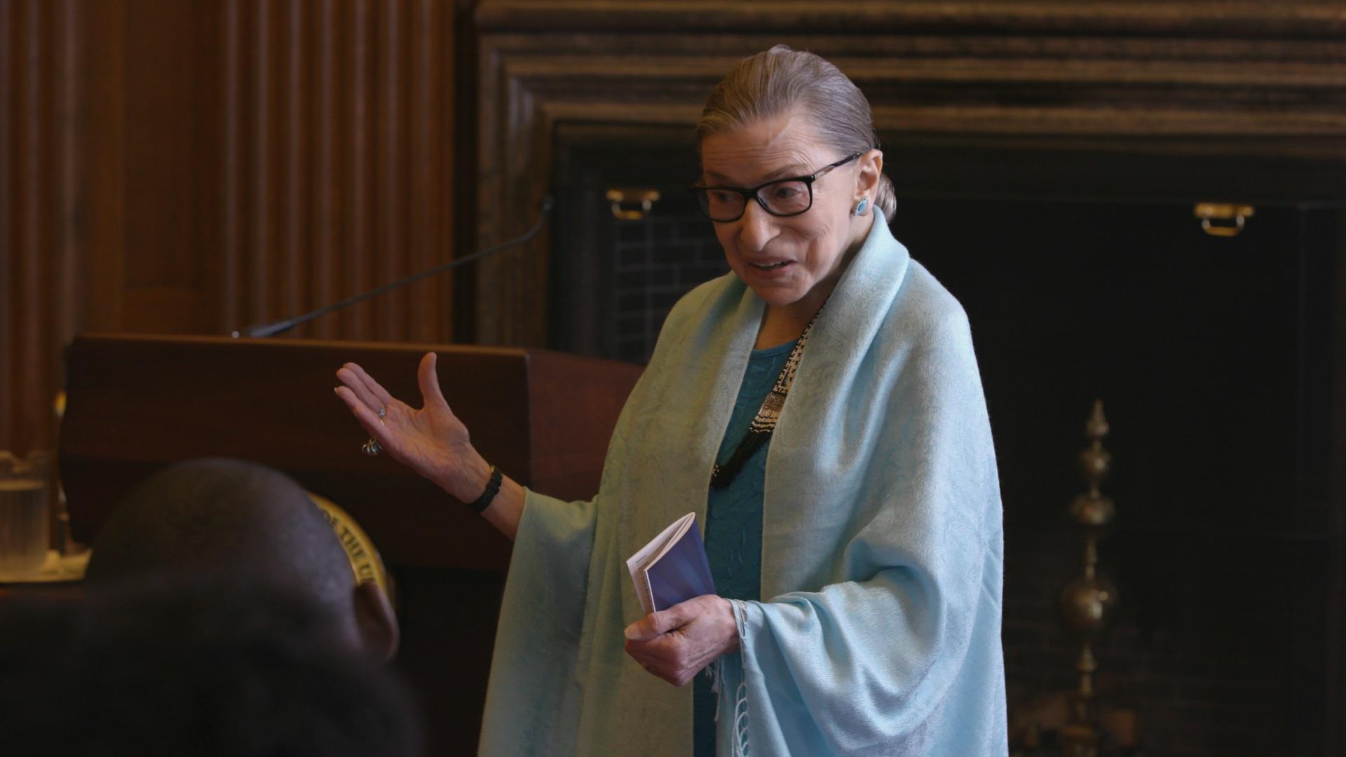 Alla corte di Ruth – RBG: la rivoluzione silenziosa di Ruth Bader Ginsburg