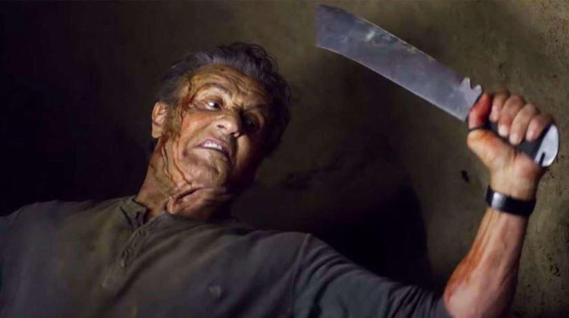 Rambo diventa splatter. Ma 37 anni dopo arriva l'età della pensione