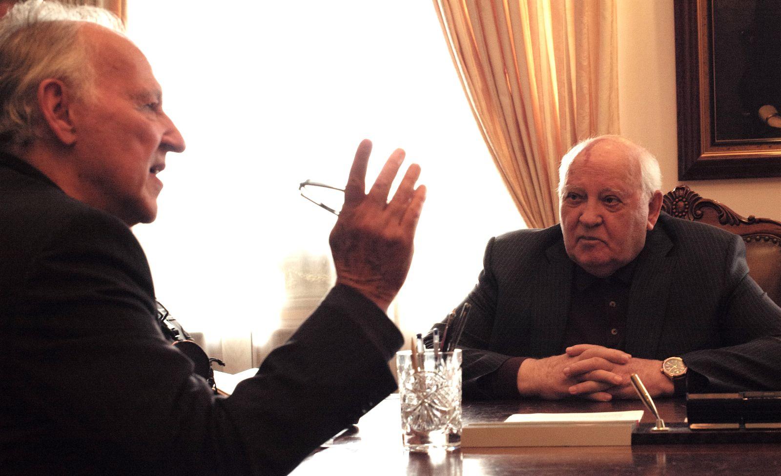 """""""Ci abbiamo provato"""". Gorbaciov (88) si confida con Herzog"""