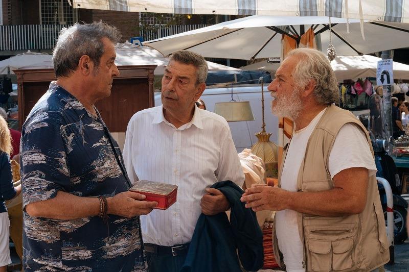 Tre anziani in fuga (forse). Di Gregorio o l'arte della commedia gentile