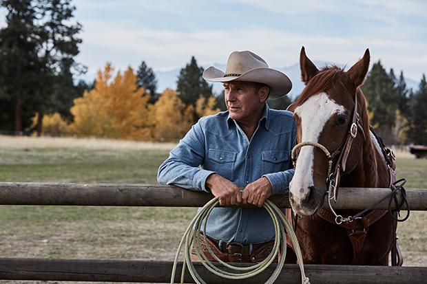"Kevin Costner torna cowboy (ma ricco). ""Yellowstone"" su Sky"