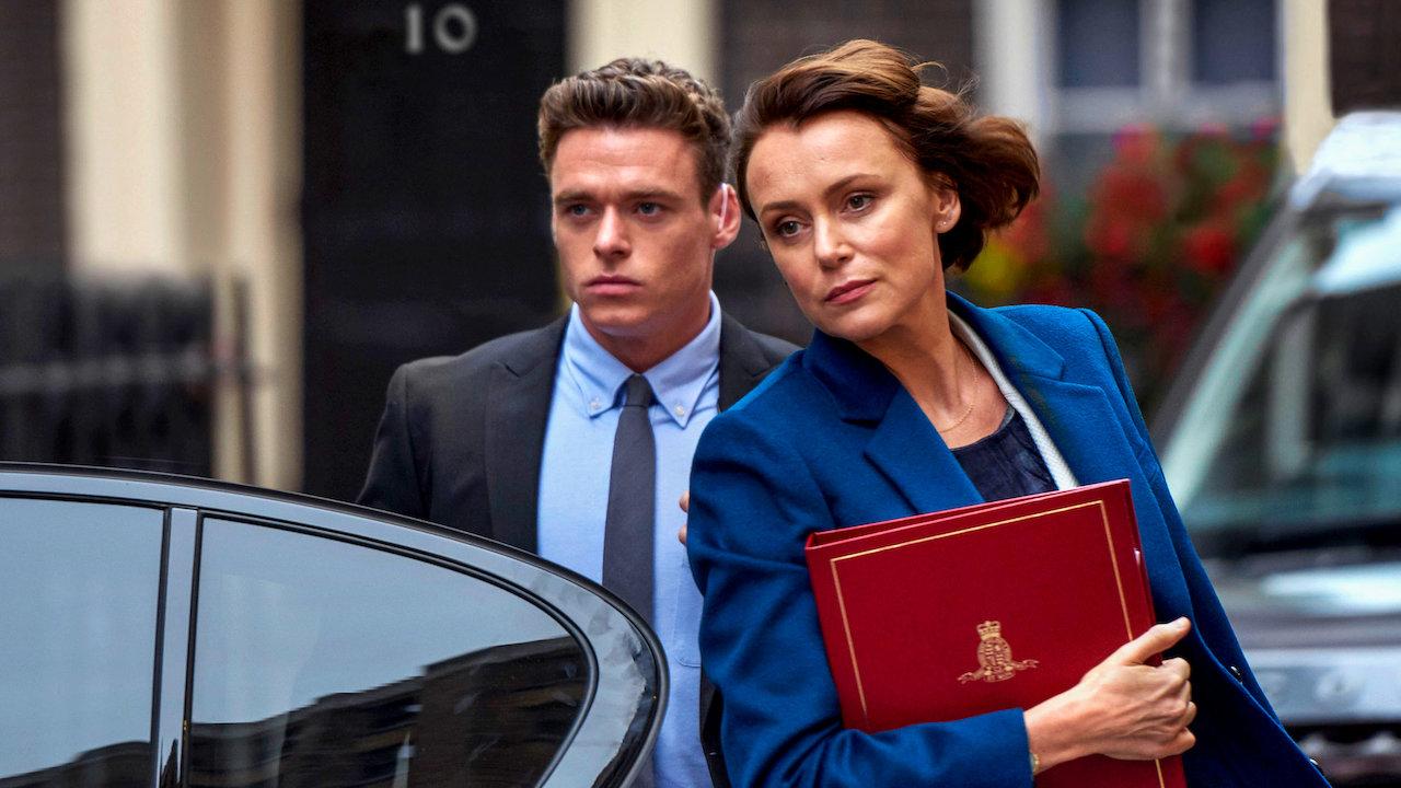 """Il veterano """"svalvolato"""" e la ministra nel mirino: """"Bodyguard"""" su Netflix"""