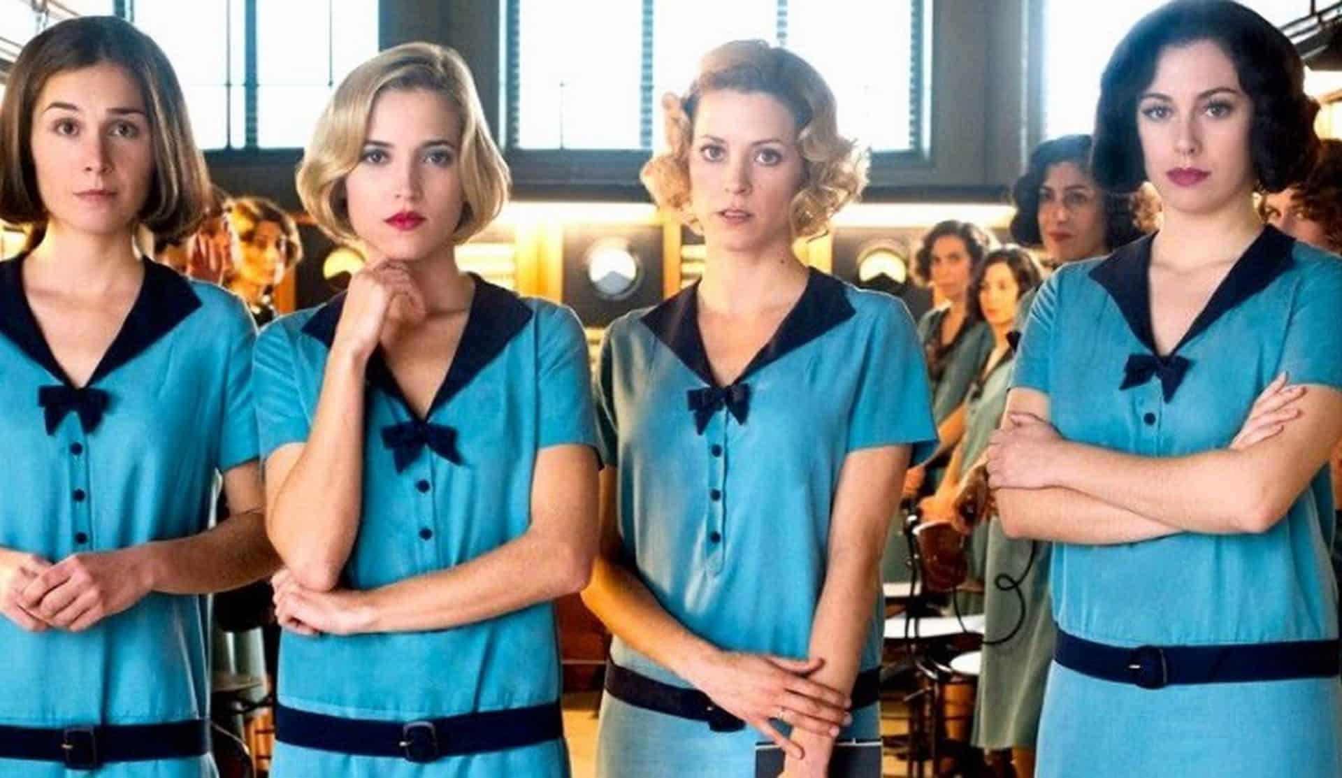 """""""Le ragazze del centralino"""". La Spagna è donna nella fortunata serie Netflix"""