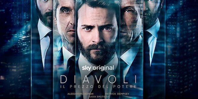 """""""Diavoli"""": gli squali della finanza approdano su Sky Atlantic. Con Alessandro Borghi e Patrick Dempsey"""