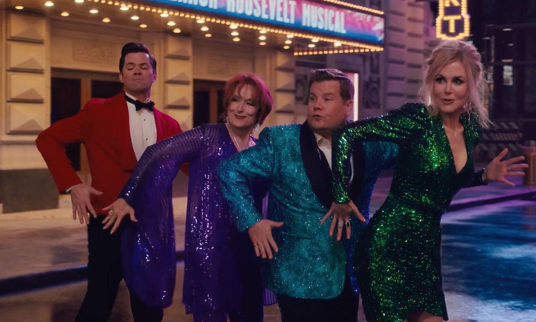"""The Prom"": dal musical di Broadway a Netflix, i diritti LGBT sono serviti in chiave spettacolare"