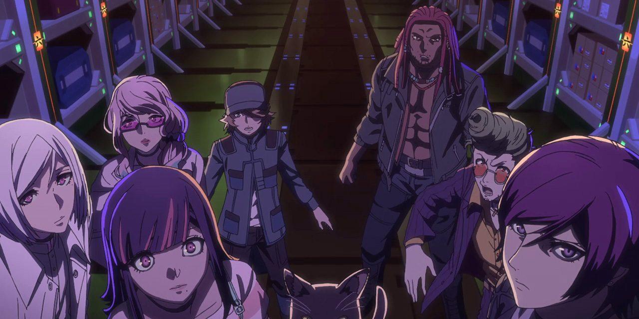"""""""Akudama Drive"""", su Netflix l'anime su un gruppo di criminali nel Kansai del futuro"""